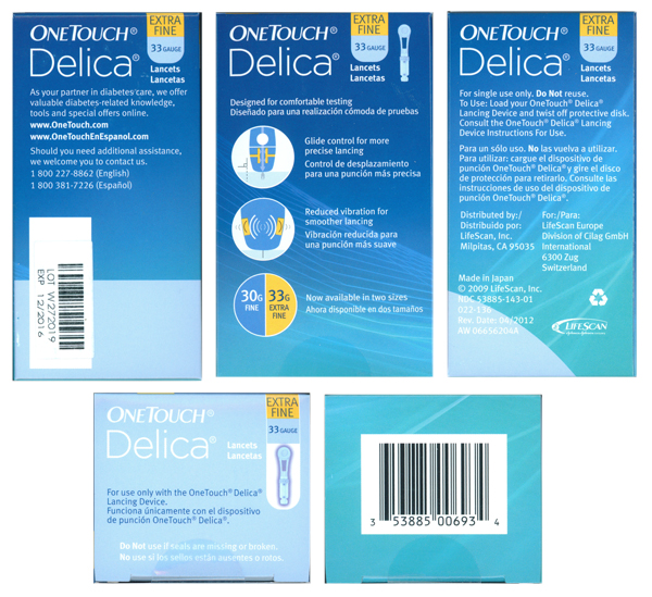 - Walmart & CVS sell the OneTouch Delica Lancing Device for $, use the